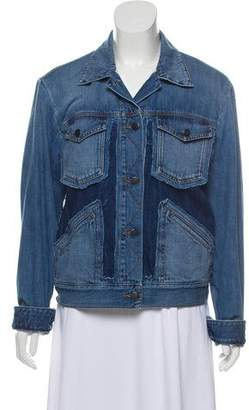 Maison Margiela Distressed Denim Jacket w/ Tags