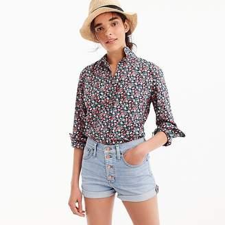 J.Crew Petite slim perfect shirt in Liberty® Sarah floral