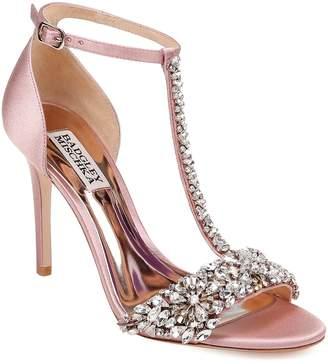 Badgley Mischka Collection Crystal Embellished Sandal