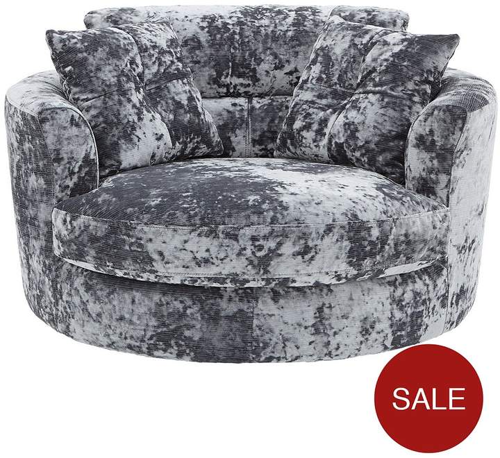 Bellini Fabric Swivel Chair