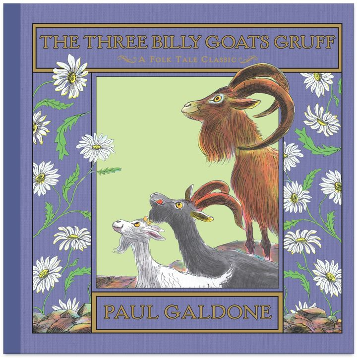 """The Three Billy Goats Gruff"" by Paul Galdone"