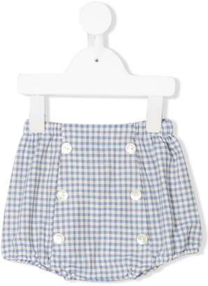 Siola gingham check shorts