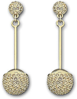 Dolce Pierced Earrings, gold-plated