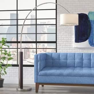 Brayden Studio Aries 86.5 Arched Floor Lamp
