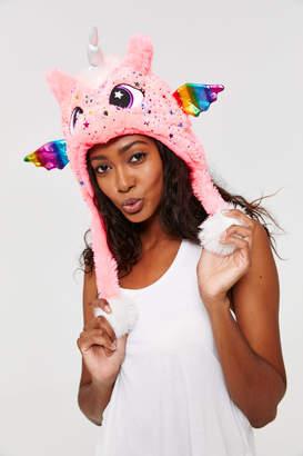 Ardene Fuzzy Unicorn Hat
