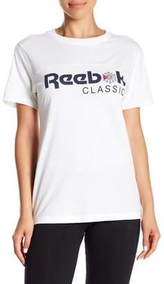 Reebok Short Sleeve Graphic Print Classic Tee