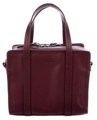 Steven Alan Leather Zip Satchel
