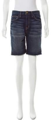 Current/Elliott High-Rise Denim Shorts