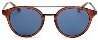 Carrera Men's Brow Bar Round Sunglasses, 49mm