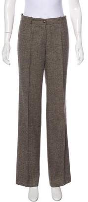 Celine Mid-Rise Virgin Wool Pants