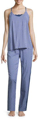 Asstd National Brand Love Dreams 2-pc. Geometric Pant Pajama Set