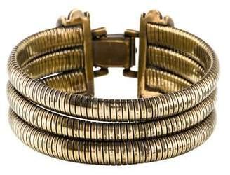 Christian Dior Multistrand Coil Bracelet