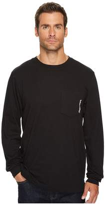 Timberland Base Plate Blended Long Sleeve T-Shirt Men's Clothing