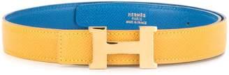 Hermes Pre-Owned Constance logo buckle belt