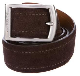 Burberry Suede Reversible Belt