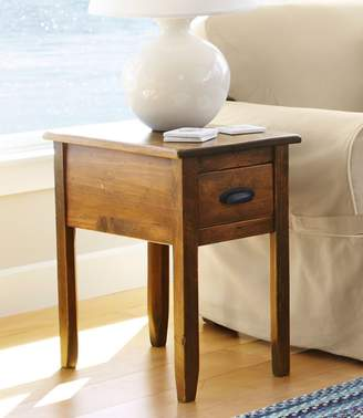 L.L. Bean L.L.Bean Rustic Wooden Side Table