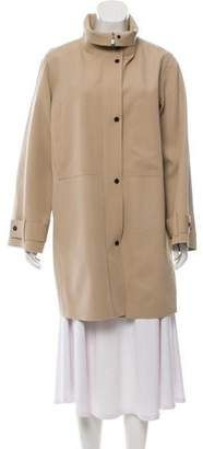 Colovos Distressed Short Coat