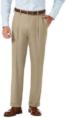 Haggar Jm Dress Pants Mens Classic Fit Pleated Pant