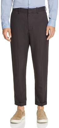 Vince Cropped Slim Fit Trousers $265 thestylecure.com