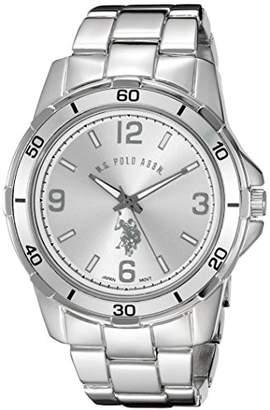 U.S. Polo Assn. Classic Men's USC80296 Analog Display Analog Quartz Silver Watch