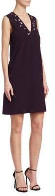 Victoria Beckham Victoria, V-Neck Shift Dress