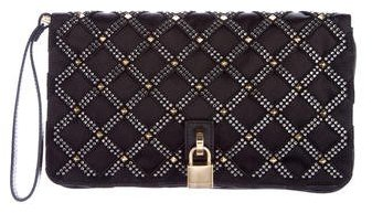 Marc Jacobs Marc Jacobs Quilted Satin Wristlet