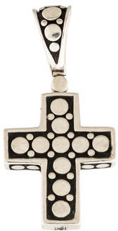 John Hardy Dot Cross Pendant $195 thestylecure.com