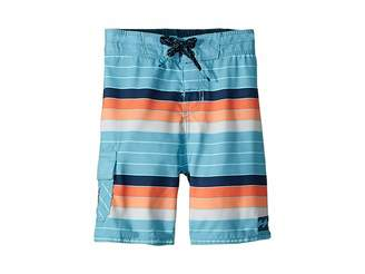 Billabong Kids All Day OG Stripe Boardshorts (Toddler/Little Kids)