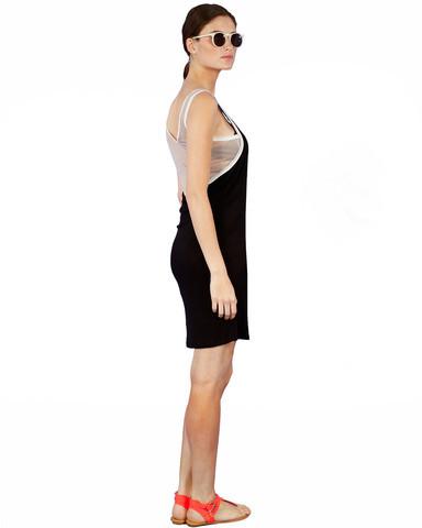 Loomstate Shira Tank Dress Gray