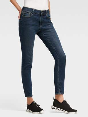 DKNY The Mid-Rise Skinny Ankle Jean