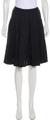 Bottega Veneta Ruffled Knee-Length Skirt