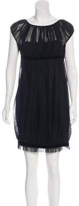 Marchesa Mini Short Sleeve Dress