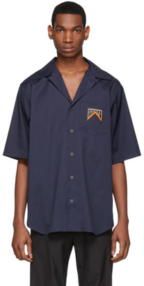 Prada Navy Bowling Shirt
