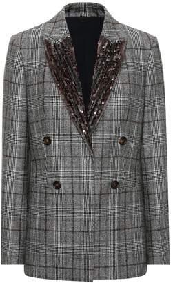 Brunello Cucinelli Sequinned wool blazer