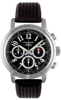 Chopard Mille Miglia Chronograph Stainless Steel& Rubber Strap Watch