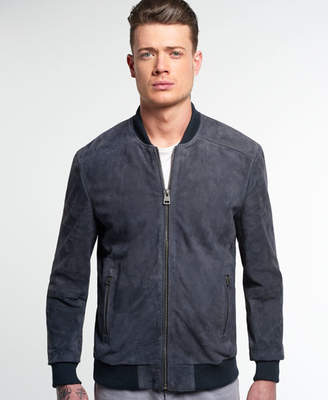 Superdry Set Suede Bomber Jacket