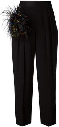 Christopher Kane wide leg trousers
