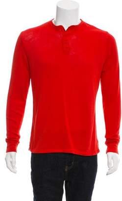 Jack Spade Knit Henley Shirt