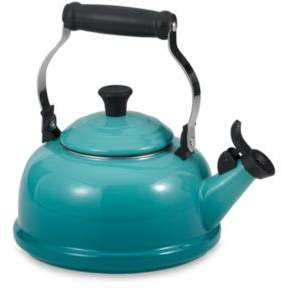 Le Creuset 1.7-Quart Whistling Tea Kettle in Caribbean Blue