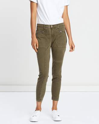 J Brand Genesis Mid Rise Skinny Utility Jeans
