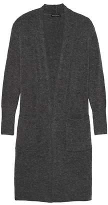 Banana Republic Petite Plush Wool Blend Duster Cardigan Sweater