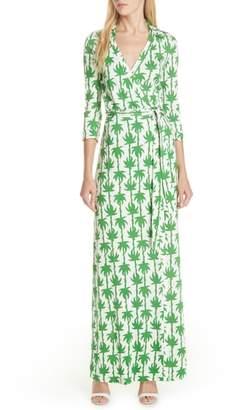 Diane von Furstenberg Abigail Silk Jersey Wrap Dress