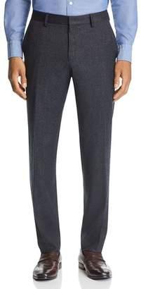 BOSS Gains Flannel Slim Fit Washable/Travel Dress Pants