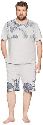 Tommy Bahama Big Tall Knit Jam Short Set Men's Pajama Sets