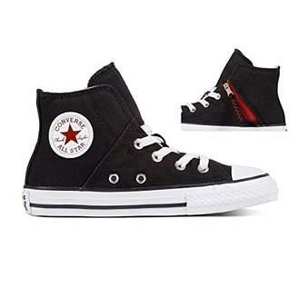 Converse Kids' Chuck Taylor All Star Pull-Zip High Top Sneaker