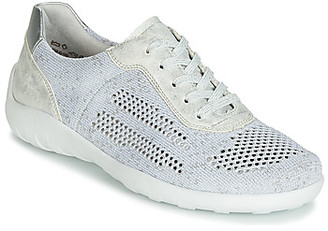 Remonte Dorndorf ZERBA women's Shoes (Trainers) in Silver