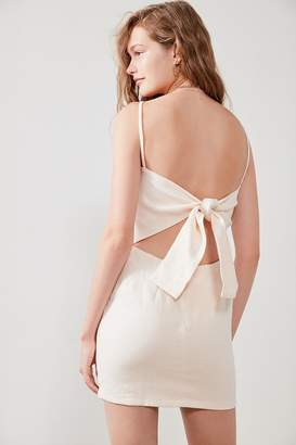 SIR the label Gracie Pink Tie-Back Dress
