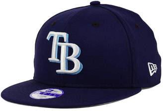 New Era Boys' Tampa Bay Rays Major Wool 9FIFTY Snapback Cap $24.99 thestylecure.com