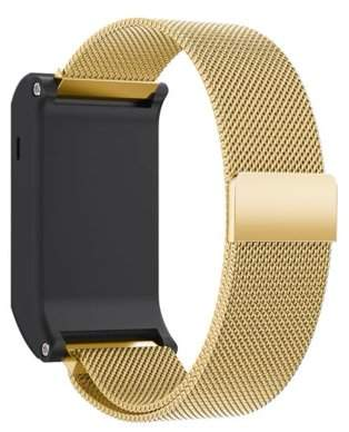 Garmin Mosunx Milanese Magnetic Loop Stainless Steel Band For vivoactive HR
