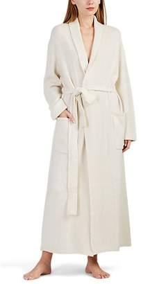Arlotta by Chris Women's Cashmere Long Robe - White